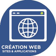 Pictogramme Création Web - Com'Une Image