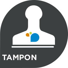 Pictogramme Tampon - Com'Une Image