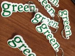 PorteCle Green - Goodies - ComUneImage